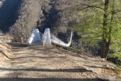 Ponte tibetano Carasc, Sementina-Monte Carasso, 2015 © F&P