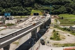 AlpTransit, Nodo di Camorino, vista aerea, 2015 © AlpTransit