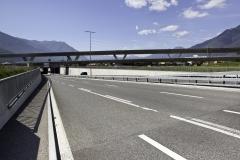 AlpTransit, Nodo di Camorino, Viadotti e Sottopasso strada cantonale, 2014 © CIPM-F. Banfi